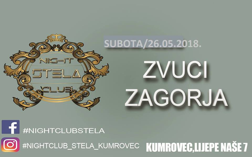 night club stela _ zvuci zagorja